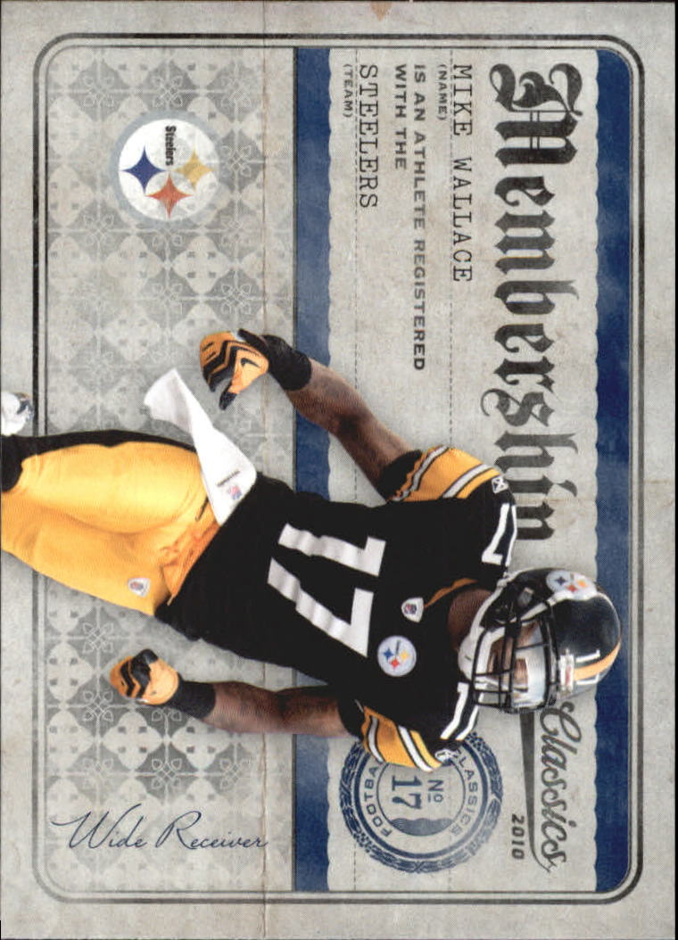 2010 Classics Membership #21 Mike Wallace