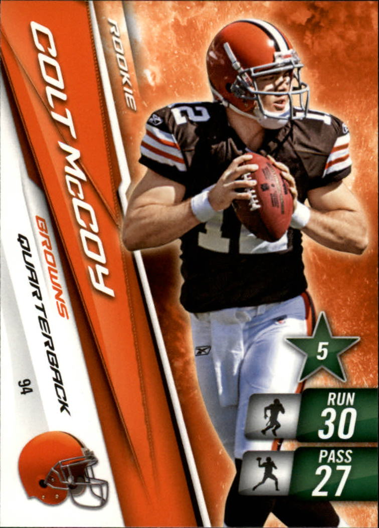 2010 Adrenalyn XL #94 Colt McCoy RC