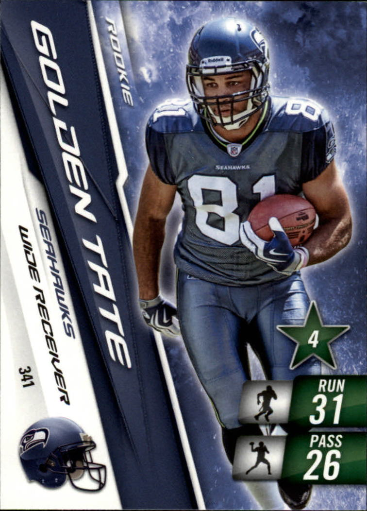 2010 Adrenalyn XL #341 Golden Tate RC