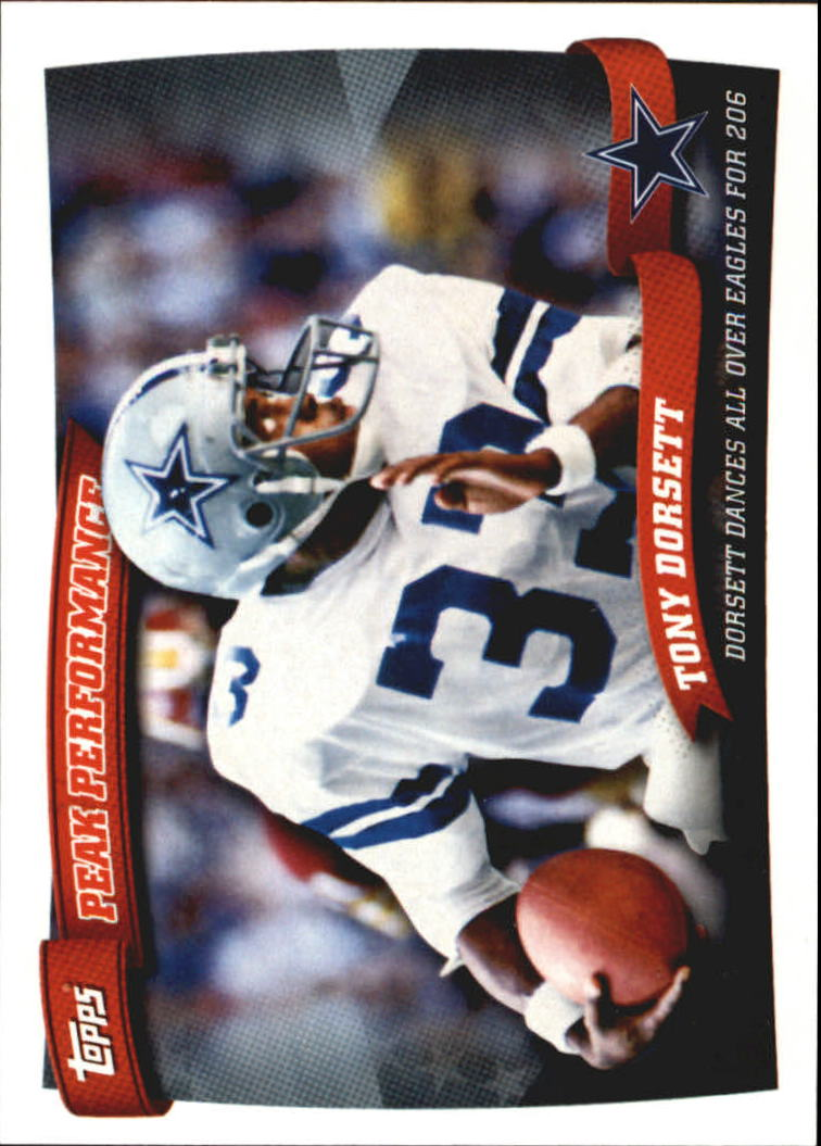 2010 Topps Peak Performance #PP14 Tony Dorsett