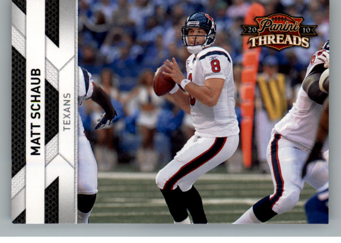 2010 Panini Threads #57 Matt Schaub