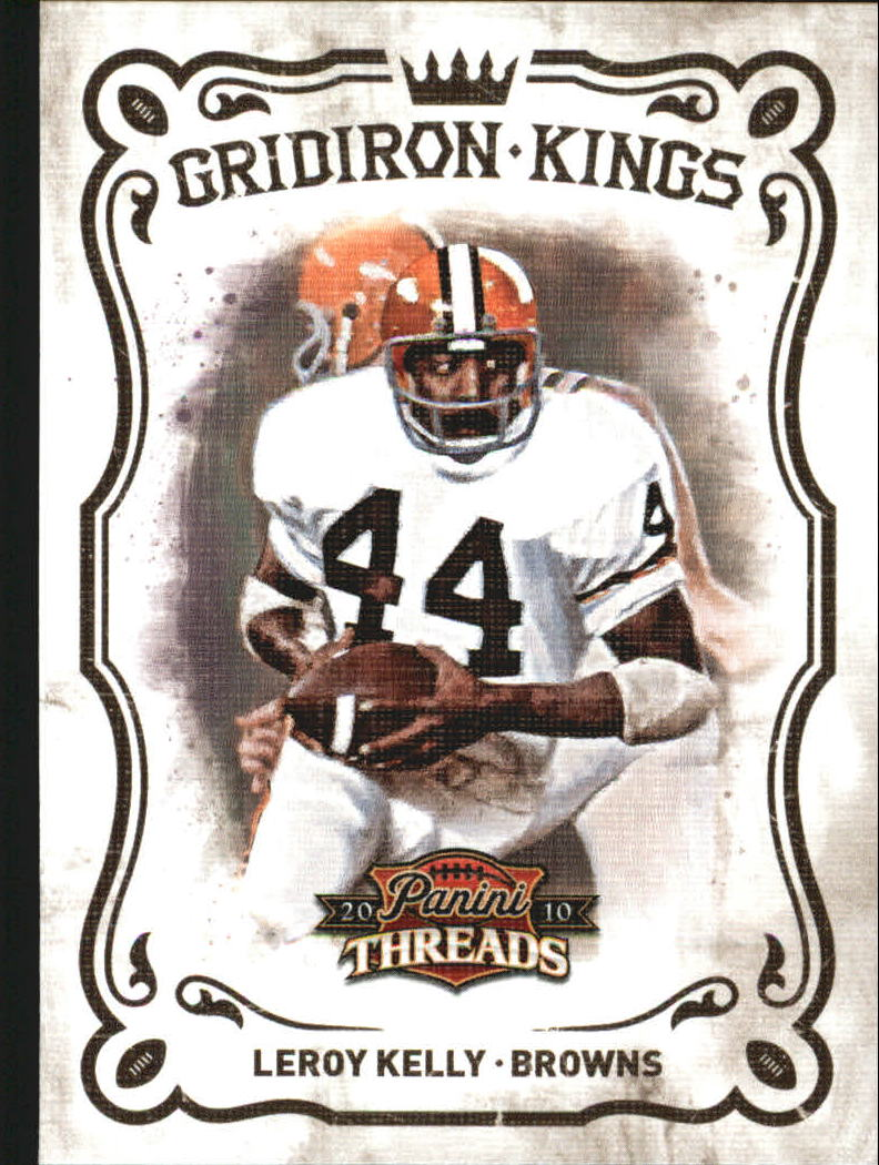 2010 Panini Threads Gridiron Kings #47 Leroy Kelly