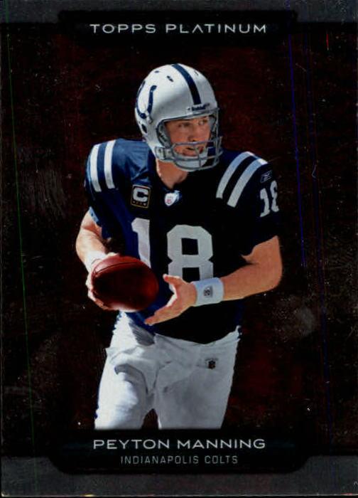 2010 Topps Platinum #1 Peyton Manning