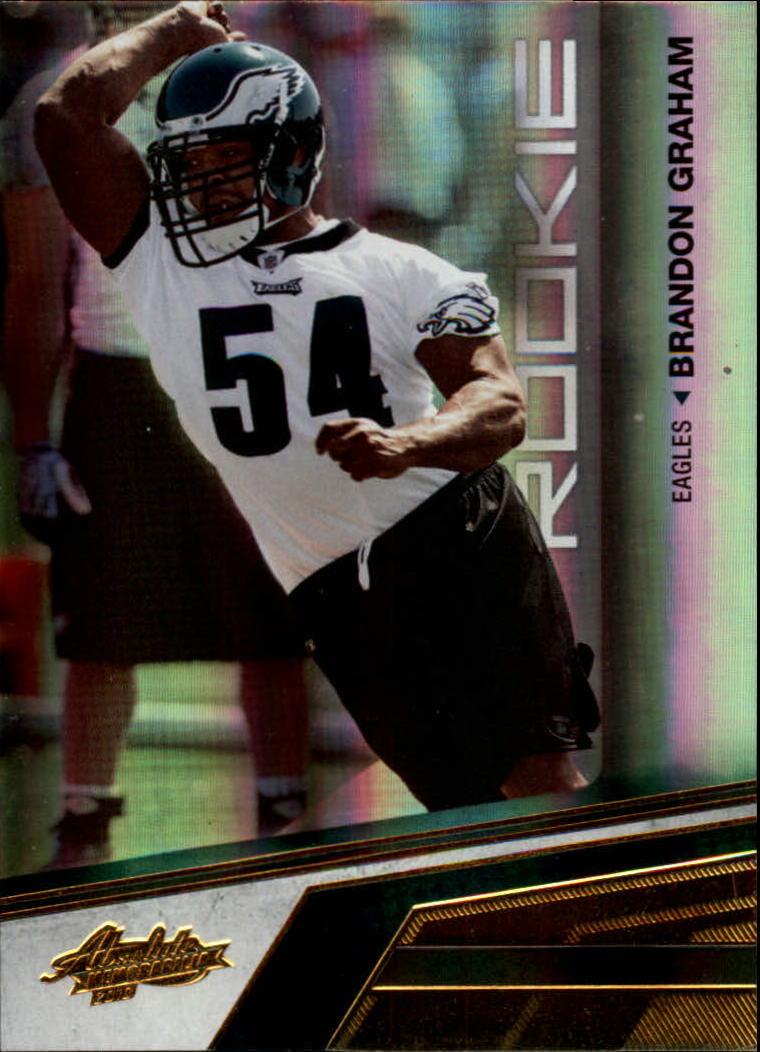 2010 Absolute Memorabilia #110 Brandon Graham RC