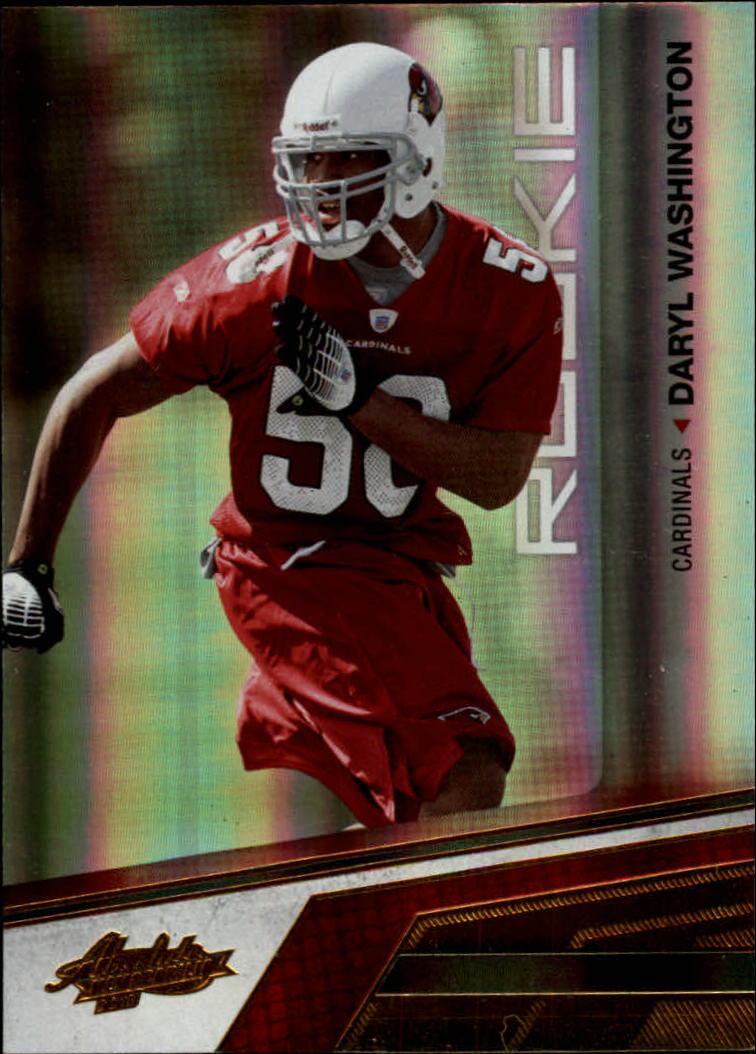 2010 Absolute Memorabilia #123 Daryl Washington RC