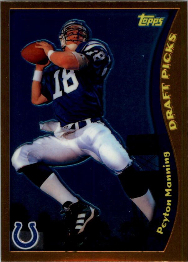 2010 Topps Chrome Anniversary Reprints #11 Peyton Manning