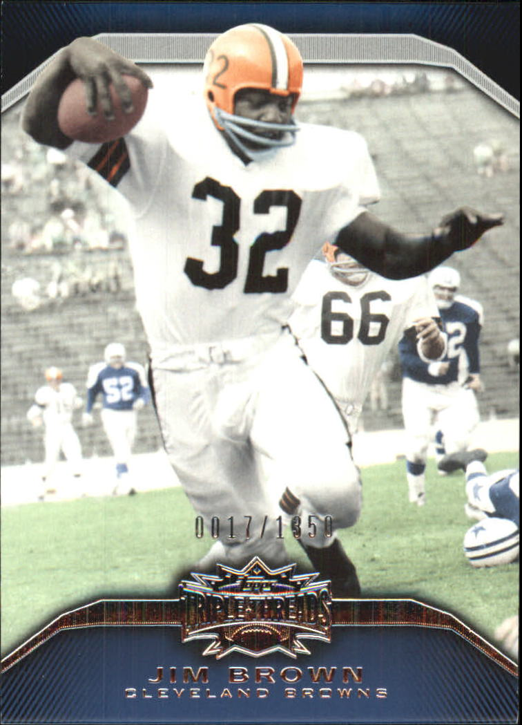 2010 Topps Triple Threads #99 Jim Brown