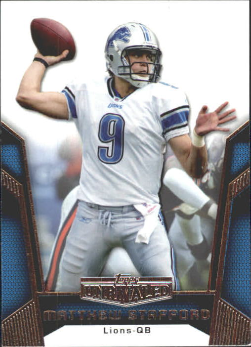 2010 Topps Unrivaled #3 Matthew Stafford
