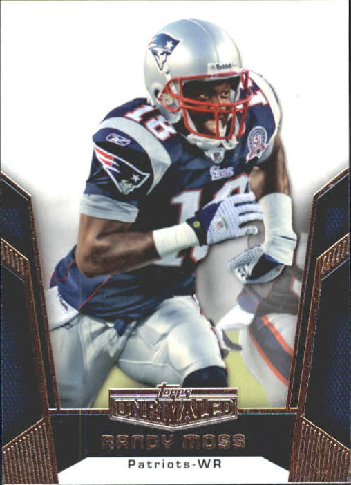 2010 Topps Unrivaled #4 Randy Moss