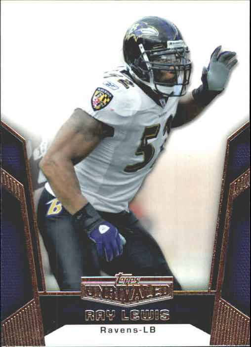 2010 Topps Unrivaled #6 Ray Lewis