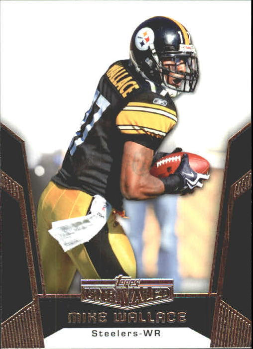 2010 Topps Unrivaled #19 Mike Wallace