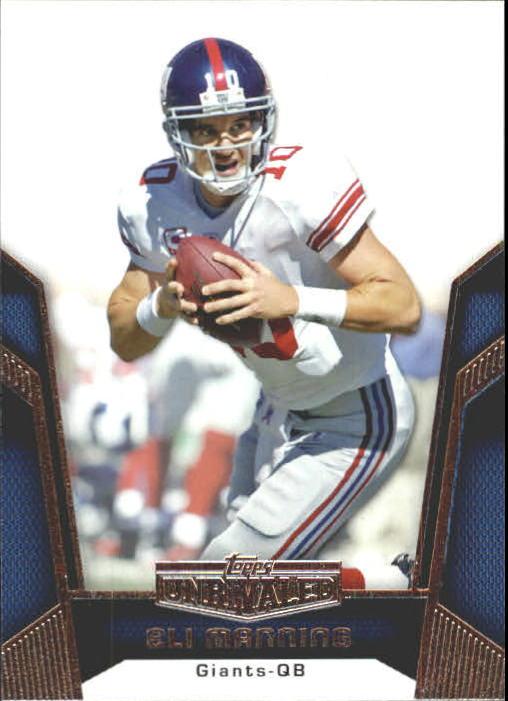 2010 Topps Unrivaled #21 Eli Manning
