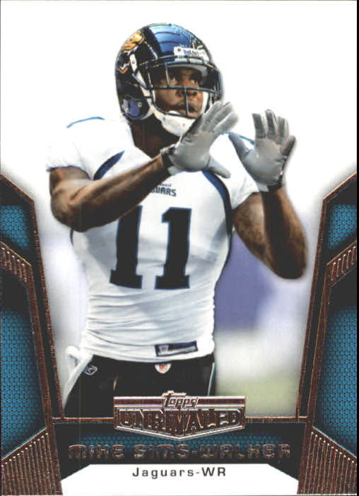 2010 Topps Unrivaled #23 Mike Sims-Walker