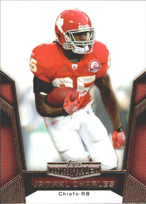 2010 Topps Unrivaled #25 Jamaal Charles