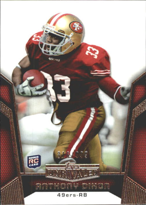 2010 Topps Unrivaled #102 Anthony Dixon RC