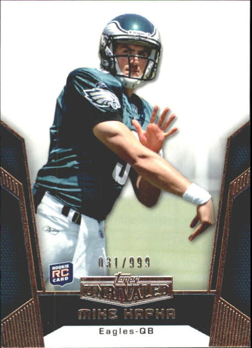 2010 Topps Unrivaled #104 Mike Kafka RC