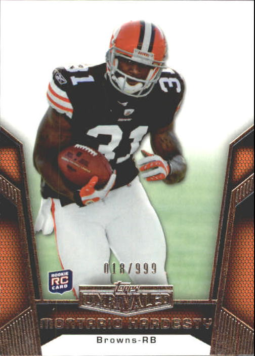 2010 Topps Unrivaled #108 Montario Hardesty RC