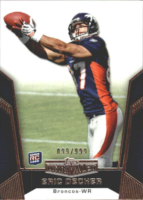 2010 Topps Unrivaled #110 Eric Decker RC