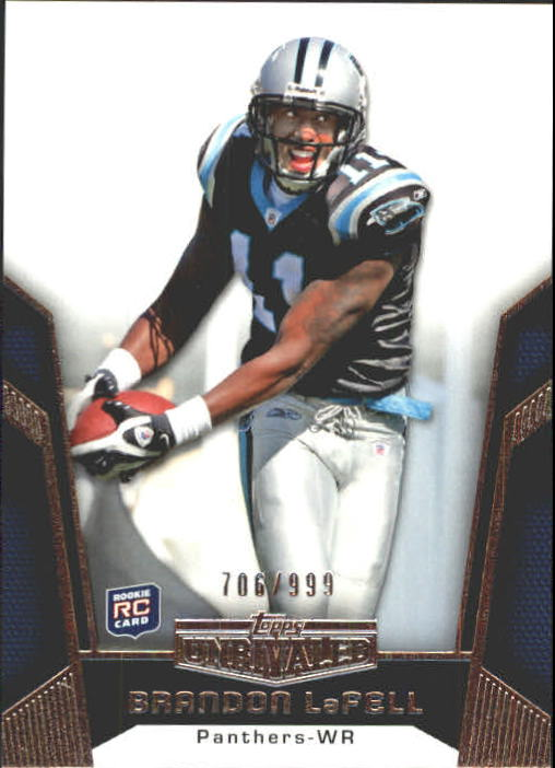 2010 Topps Unrivaled #111 Brandon LaFell RC