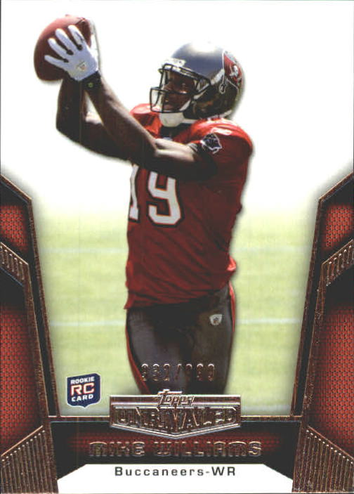 2010 Topps Unrivaled #115 Mike Williams RC