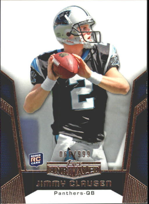 2010 Topps Unrivaled #118 Jimmy Clausen RC