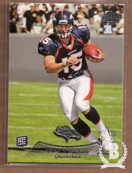 2010 Topps Prime #1 Tim Tebow RC