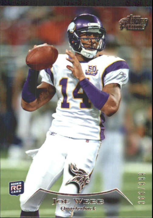 2010 Topps Prime #23 Joe Webb RC