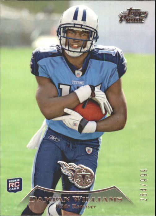 2010 Topps Prime #32 Damian Williams RC