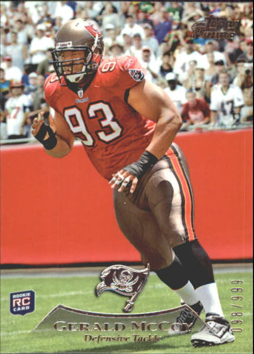 2010 Topps Prime #49 Gerald McCoy RC