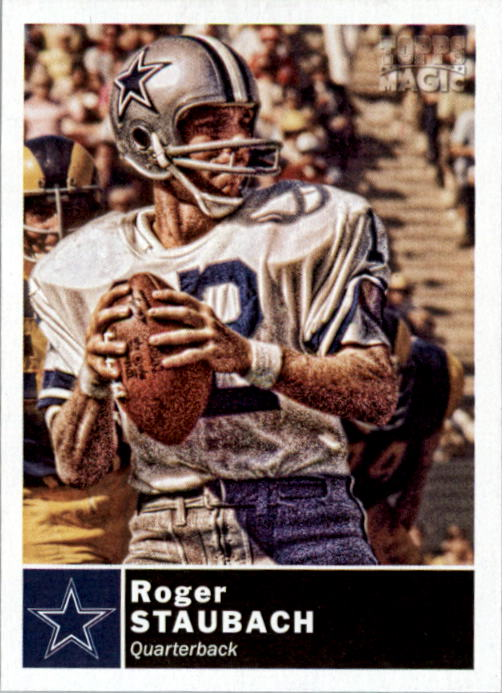 2010 Topps Magic Mini #193 Roger Staubach
