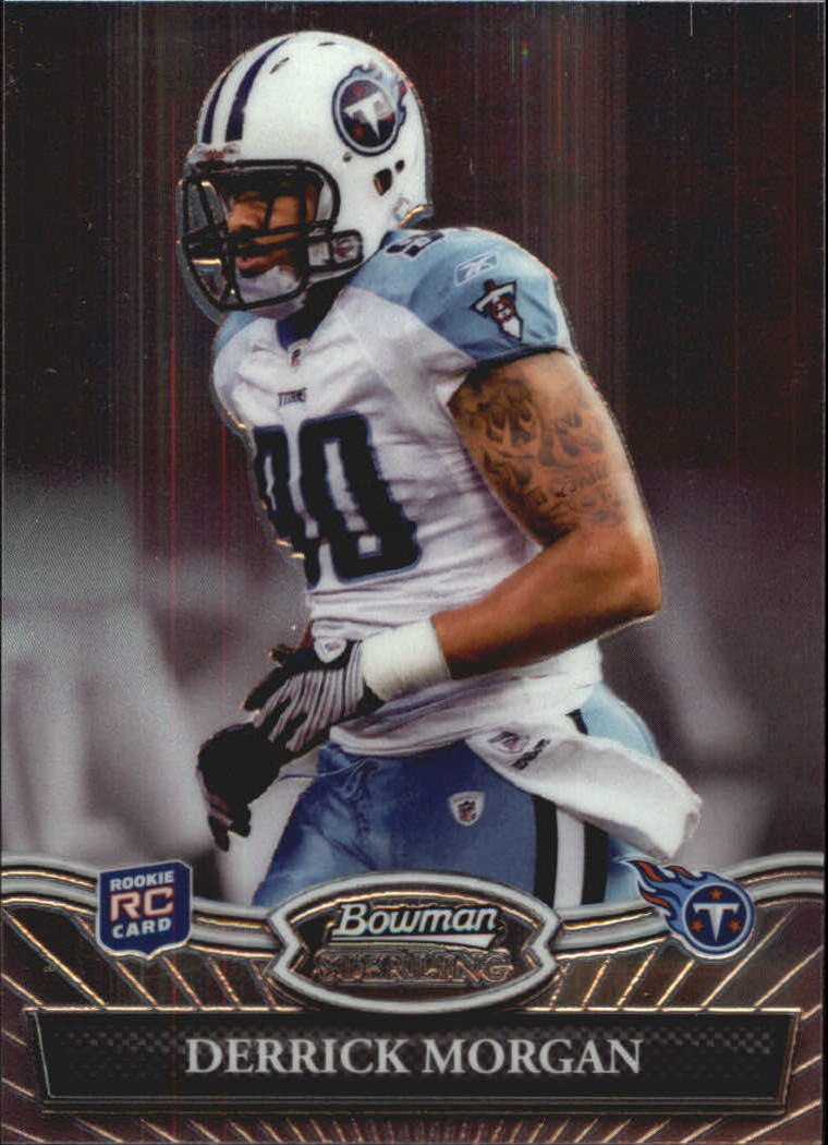 2010 Bowman Sterling #4 Derrick Morgan RC