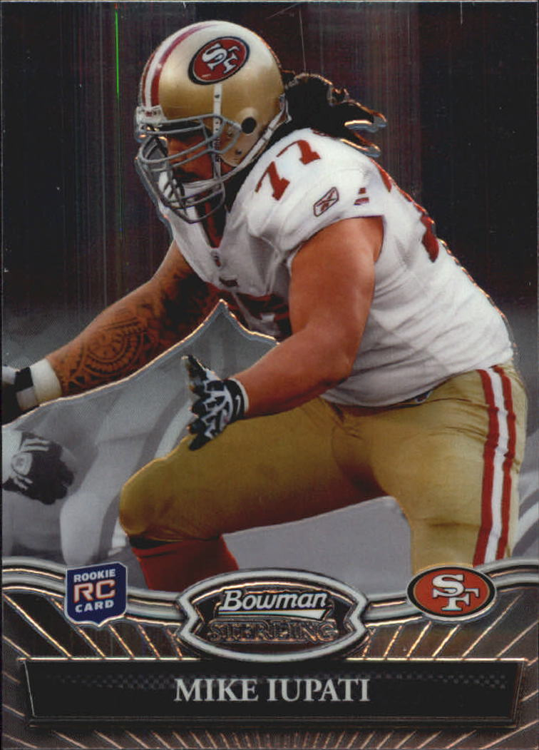 2010 Bowman Sterling #12 Mike Iupati RC