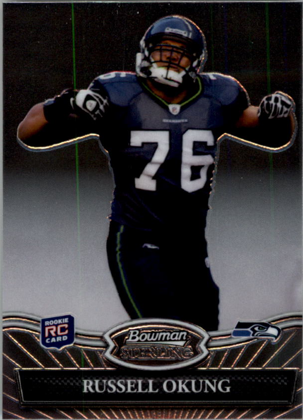 2010 Bowman Sterling #14 Russell Okung RC
