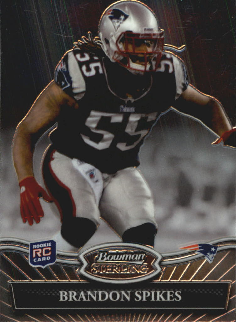 2010 Bowman Sterling #19 Brandon Spikes RC