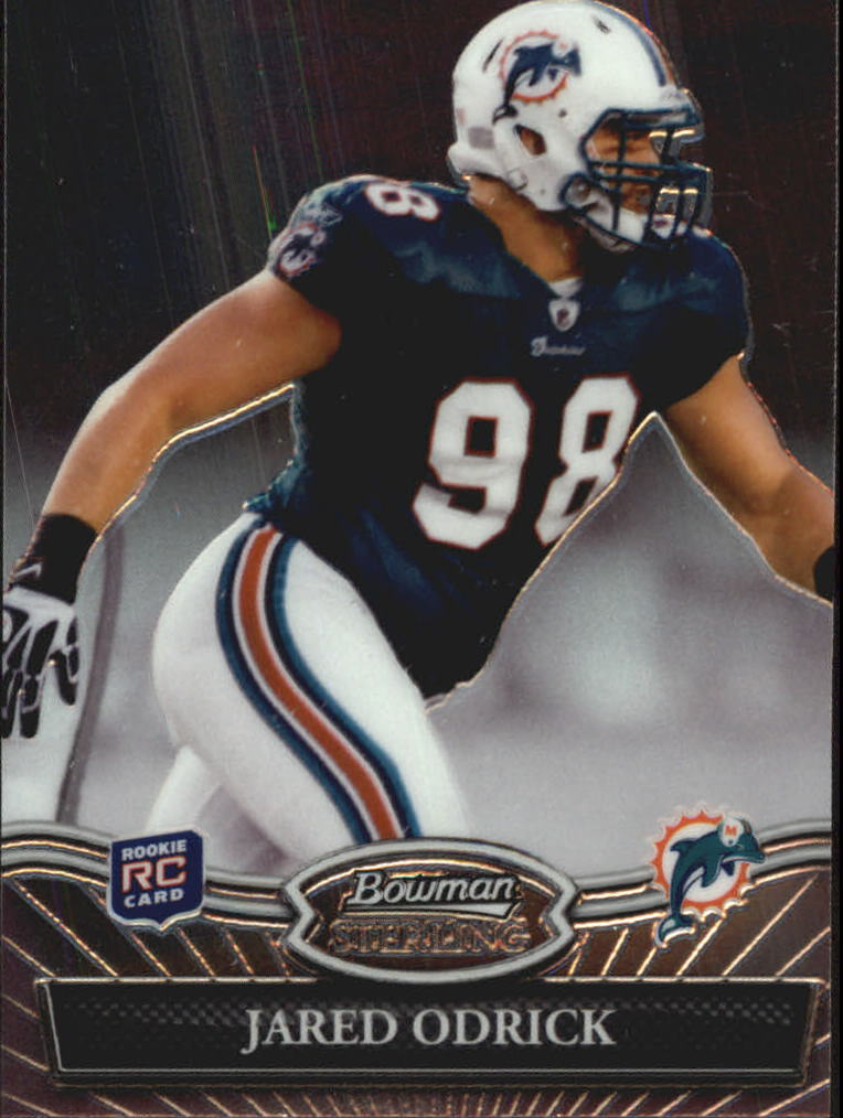 2010 Bowman Sterling #20 Jared Odrick RC