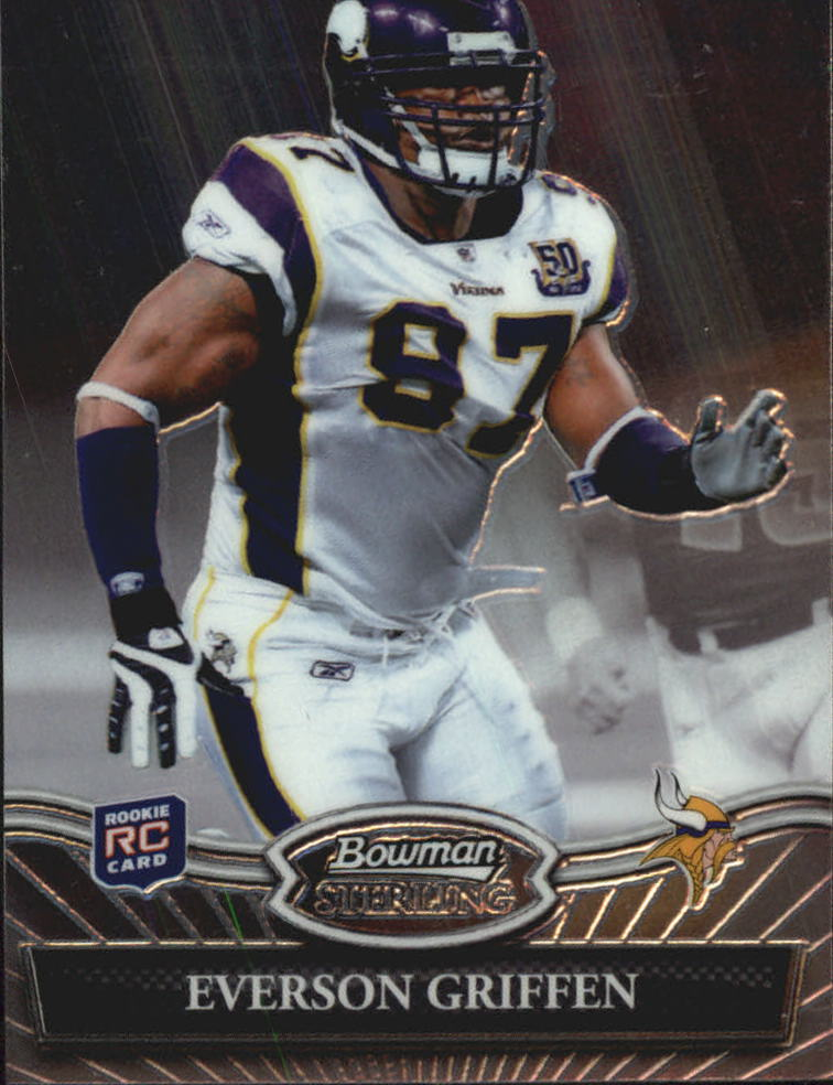 2010 Bowman Sterling #23 Everson Griffen RC