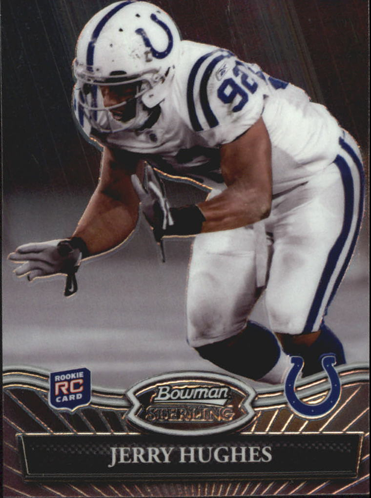 2010 Bowman Sterling #25 Jerry Hughes RC