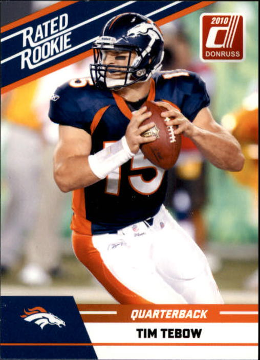2010 Donruss Rated Rookies #95 Tim Tebow