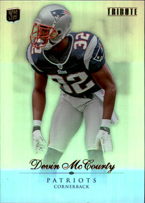 2010 Topps Tribute #3 Devin McCourty RC