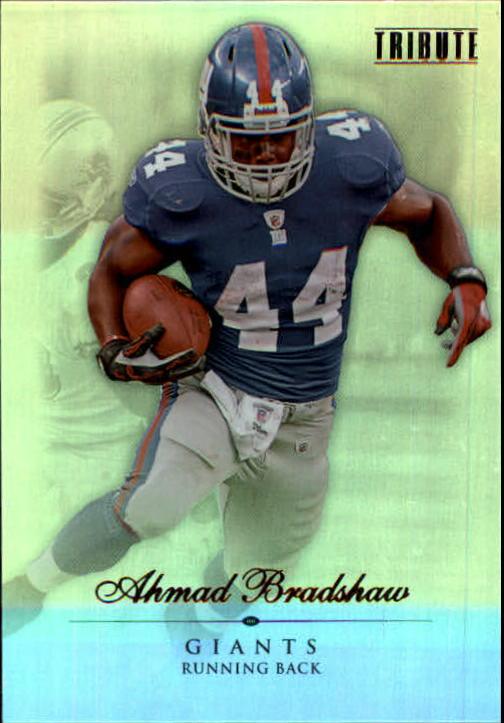 2010 Topps Tribute #7 Ahmad Bradshaw