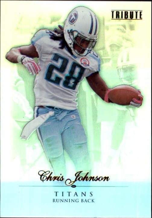 2010 Topps Tribute #10 Chris Johnson