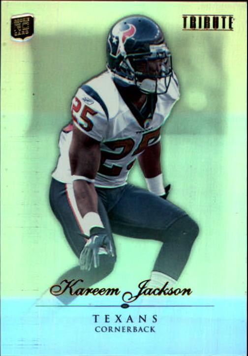2010 Topps Tribute #16 Kareem Jackson RC
