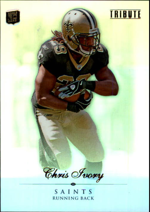 2010 Topps Tribute #19 Chris Ivory RC