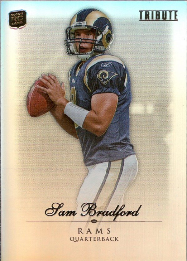 2010 Topps Tribute #20 Sam Bradford RC
