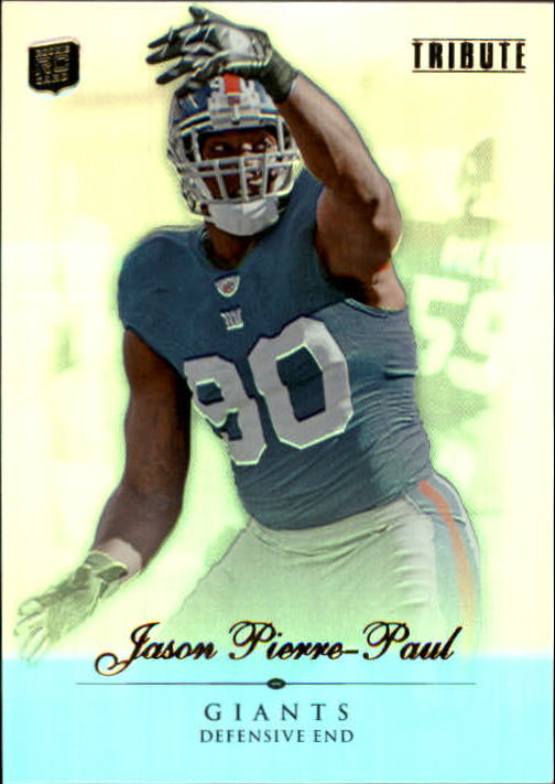 2010 Topps Tribute #28 Jason Pierre-Paul RC
