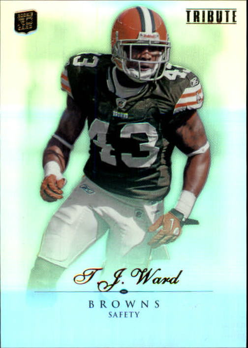 2010 Topps Tribute #43 T.J. Ward RC