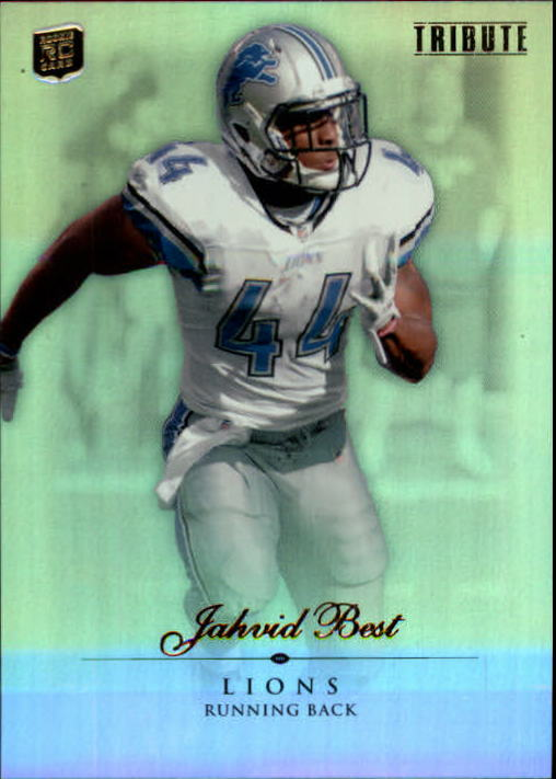 2010 Topps Tribute #46 Jahvid Best RC