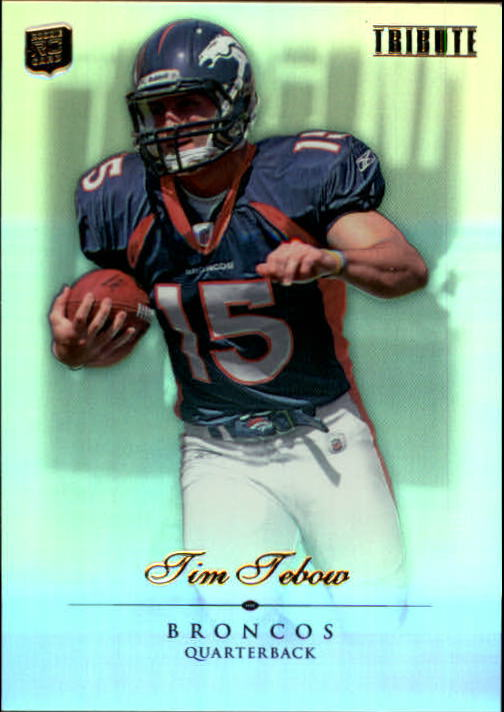2010 Topps Tribute #50 Tim Tebow RC