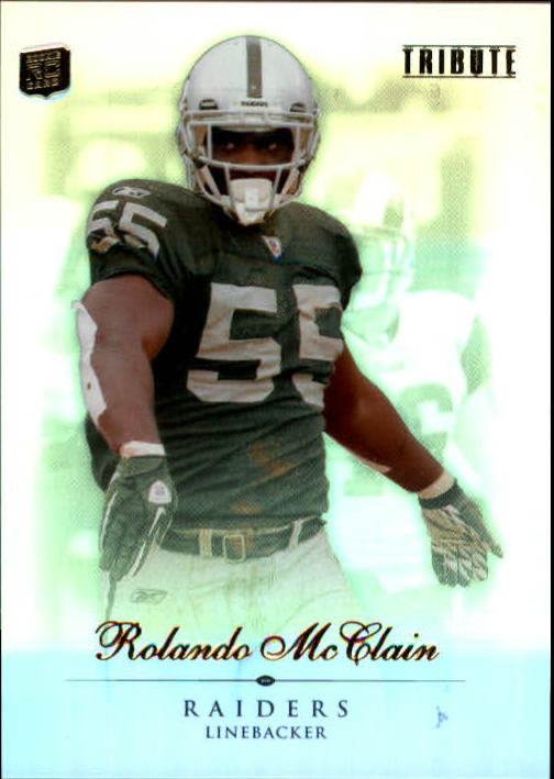 2010 Topps Tribute #55 Rolando McClain RC