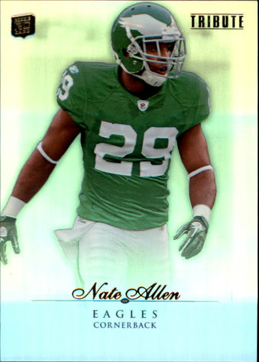 2010 Topps Tribute #77 Nate Allen RC